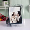 Mondern marco de fotos de vidrio decoración del diamante marco cristal