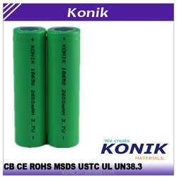 High quality 18650 lithium battery and lithium ion battery pack for bicycle, rc car, electric car