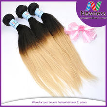 Aliexpress 5A Grade 100% Virgin 16 Inches Straight Indian Remy Extensions Human Hair India
