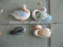 swan style fridge magnet