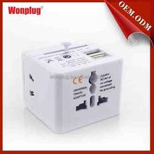 Wholesale high quality popular 2 pin to 3 pin uk plug