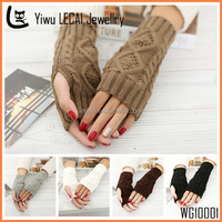 Multi-color Fingerless Gloves | Cable Knit, Fall Mittens, Knit Fingerless Gloves, Womens Gloves, Wrist Warmers