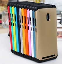 JESOY 2015 New PC TPU Case Cover For Phone ,2 in 1 Hard Cell Phone Cases For Asus Zenfone 6
