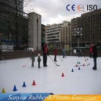 customized synthetic ice rink/oem uhmwpe sheet ice skating/hdpe sheet/panel/board