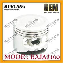 Four Stroke Strong Piston for Bajaj100 100cc for India Market