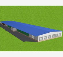 neopor fireproof small modular low cost poultry house for broilers