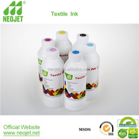 material imported Compatible msds sublimation ink for chinese models dx5 printheads