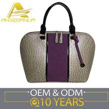 Attractive Latest Designs Customized Logo 2011 Popular Lady Handbag
