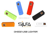 Multifunction windproof rechargeable usb lighters free for sample