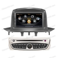 car radio double 2 din car dvd player gps navigation in dash car stereo head unit for Renualt Fluence