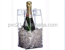 hot sale in Europepvc wine cooler bagwith your own logo