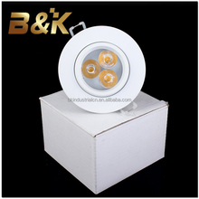 High quality Long lifespan white color 5W cob LED spot light