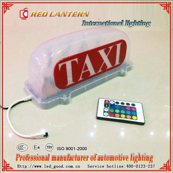 Latest Edition Neon TAXI Sign