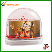 New Lovely Kid Glitters Photo Snow Globe