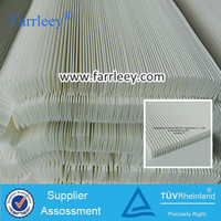 Cartridge filter media,water& oil repellent spunbonded polyeater, pleated filter material,
