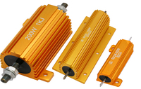Aluminum Housed wire-wound power resistor 500k ohm resistor RX24
