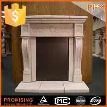 indoor decorative cast iron fireplace and stove