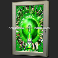 aluminum extrusion for picture frame for indoor advertising frame as advertising picture frame