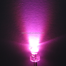 3mm led pink diffused