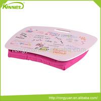 Cute pink custom comfortable wholesale laptop desk stand