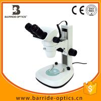 (BM-500J3) 6.7X-45X Track Stand Stereo Zoom Binocular Microscope w Dual LED Lights