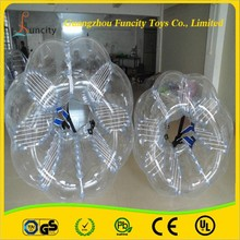 tpu 1.5m diameter for adults inflatable body bumpering ball, bumper soccer ball wholesale