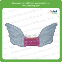 baby girl wear on toy inflatable angel wings back wing