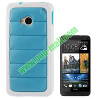 Hot Sale Cross Texture Leather Case for HTC One / M7