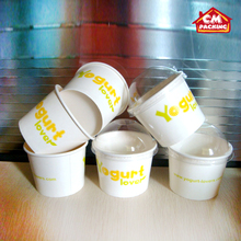 summer hot sale ice cream cup printed by yourself