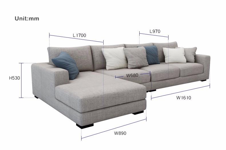 2017 el más nuevo diseño moderno muebles para el hogar de madera ...