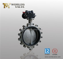 full bore type cast rion lug butterfly valve