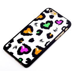 Shockproof Silicone + Hard Plastic Combination For Iphone 6 Hybrid Shockproof Phone Case