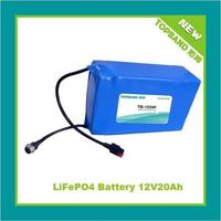 High Power 12V Rechargeable Battery for Golf with BMS Protection
