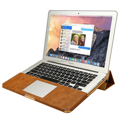 JisonCase leather case 11 inch 12 inch 13 inch for Apple MacBook Air