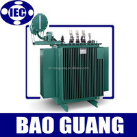 IEC three phase 50 kva/100 kva/200 kva oil power transformer