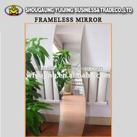 Factory Cost Float Glass Aluminum Mirror Glass, Lowly price decor mirror