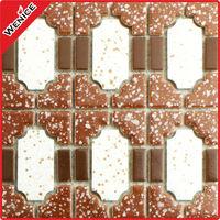 foshan decorative ceramic pool border line pattern tiles