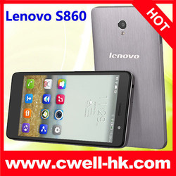 "Lenovo S860 5.3"" Quad Core IPS Screen MTK6582 Quad Core 1GB/16GB 4000 Mah Battery dual sim mobile phone 4G android phone"
