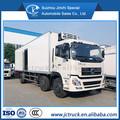 Dongfeng 6x2 50 cbm camión congelador, camioneta de carga refrigerada, camiones de unidades de refrigeración para la venta