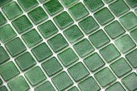 factory cheap price green glass mosaic tile/swimming pool tile