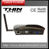 High quality green linux thin client.Hdmi PC RDP7.1 CPU 1.G Thin client mini PC with 1080P HDMI support streaming video
