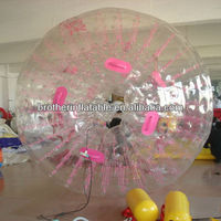Transparent sphere water walking ball games