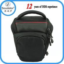 Eco-friendly Top-quality Black Triangle Camera Bag