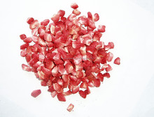 Strawberry granules freeze dried