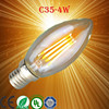 4W E14 E27 Socket G45 LED FILAMENT BULB LIGHT REPLACEMENT WITH 40W TRADITIONAL LAMP 2700K WARM WHITE Epistar Chip