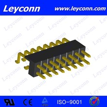 Pitch 2.0mm Double Row Surface Mount Parallel Pin Header connecter alibaba made in China
