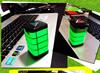 5000 mah 1A large EL light full screen advertising flash mini power bank