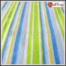 China supplier home textile wholesale printed fabric cotton blue and white striped