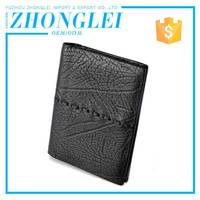 Affordable Price Personalized Mens Leather Wallet With Coin Pocket