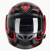 BM2 936 Best Sales Safe Flip Up Motorcycle Helmet With Inner Sun Visor double lens helmet